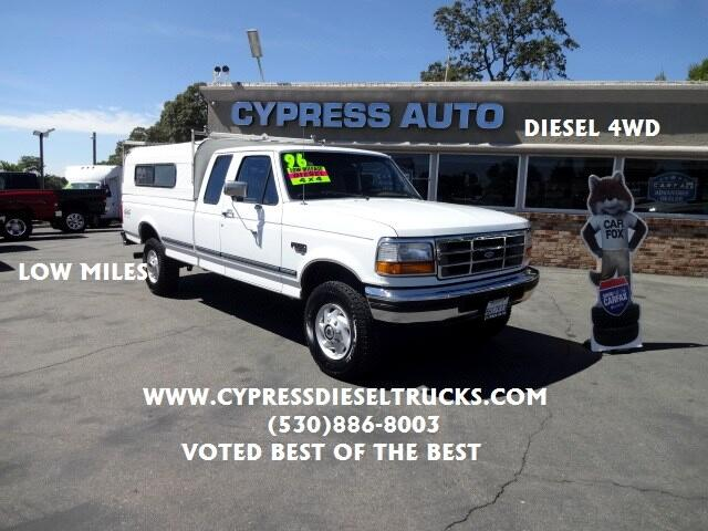 1996 Ford F-250 XLT SuperCab Long Bed 4WD