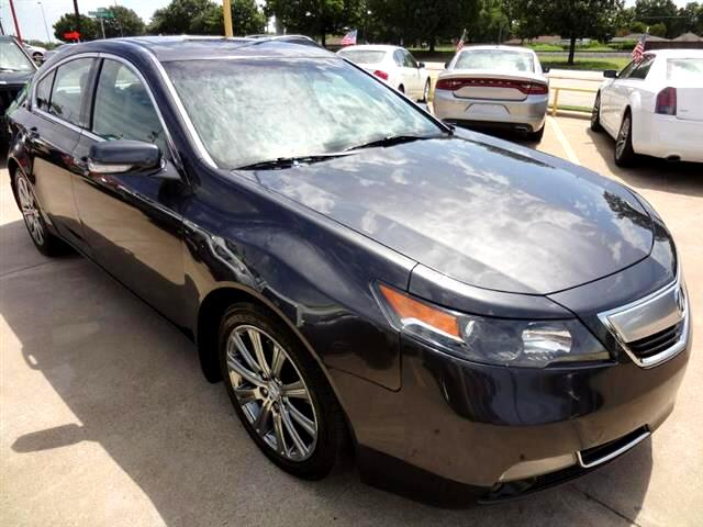 2014 Acura TL 6-Speed AT with Tech Package and 18-In. WP