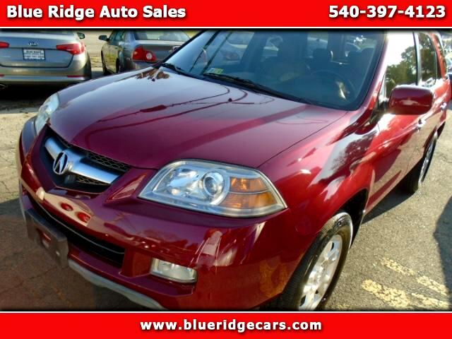 2006 Acura MDX Touring with Navigation System and Rear DVD System