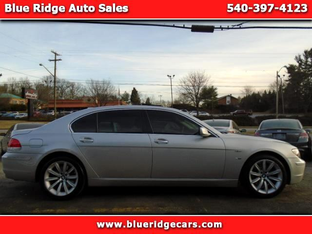 2007 BMW 7-Series 750Li xDrive