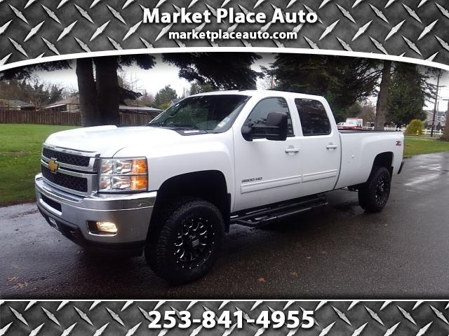 2013 Chevrolet Silverado 3500HD LTZ Crew Cab Long Box 4WD