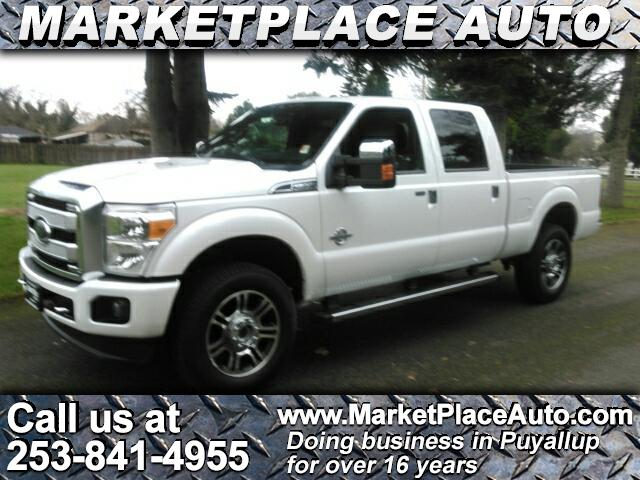 2014 Ford F-350 SD Platinum Crew Cab Short Bed 4WD