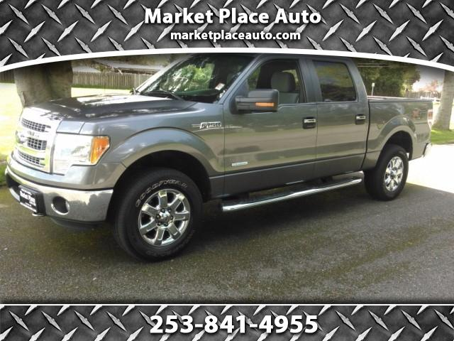 2013 Ford F-150 XLT 4WD SuperCrew 5.5' Box