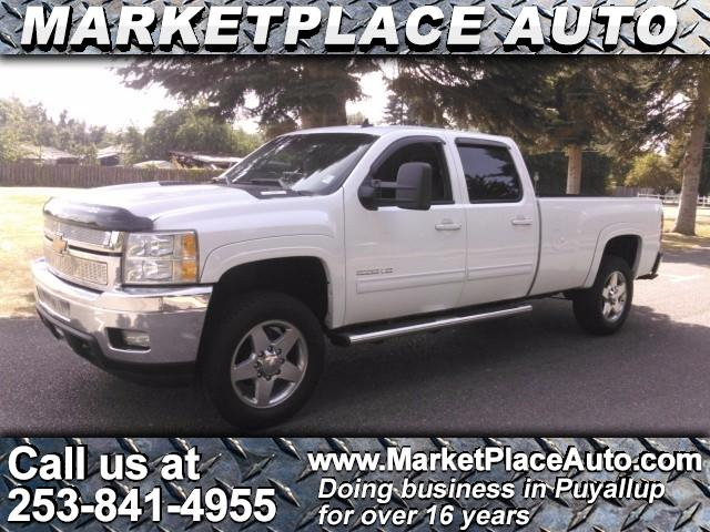 2012 Chevrolet Silverado 3500HD LTZ Crew Cab Long Box 4WD