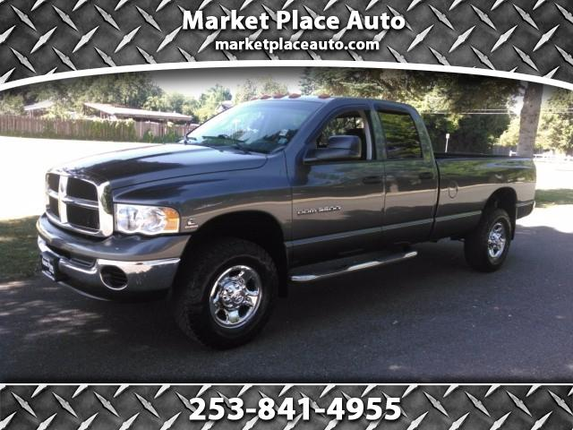 2003 Dodge Ram 3500 SLT Quad Cab Long Bed 4WD