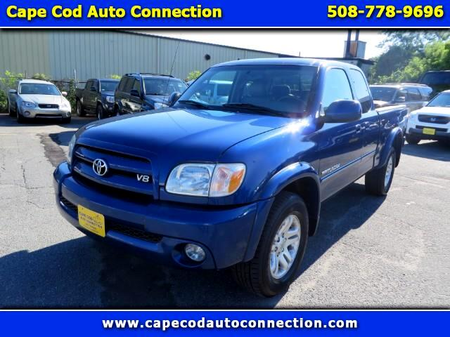 used 2006 toyota tundra limited access cab 4wd for sale in hyannis ma 02601 cape cod auto connection. Black Bedroom Furniture Sets. Home Design Ideas