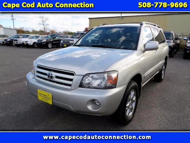 used 2007 toyota highlander v6 4wd with third row seat for. Black Bedroom Furniture Sets. Home Design Ideas
