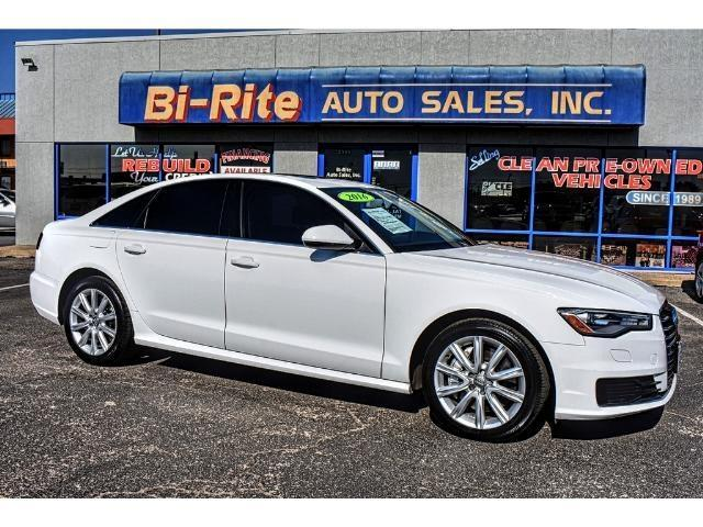2016 Audi A6 LOADED LEATHER SUNROOF LOTS OF LUXARY