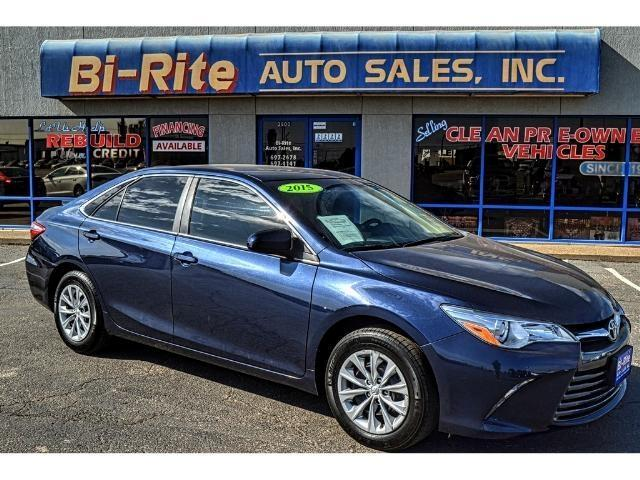 2015 Toyota Camry ONE OWNER LOW MILES GREAT MPG