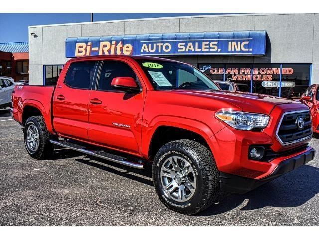2016 Toyota Tacoma TSS OFF ROAD DOUBLE CAB ONE OWNER LOW MILES