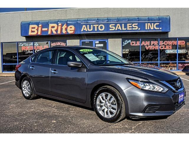 2016 Nissan Altima ONE OWNER FULL SIZE SEDAN GREAT VALUE