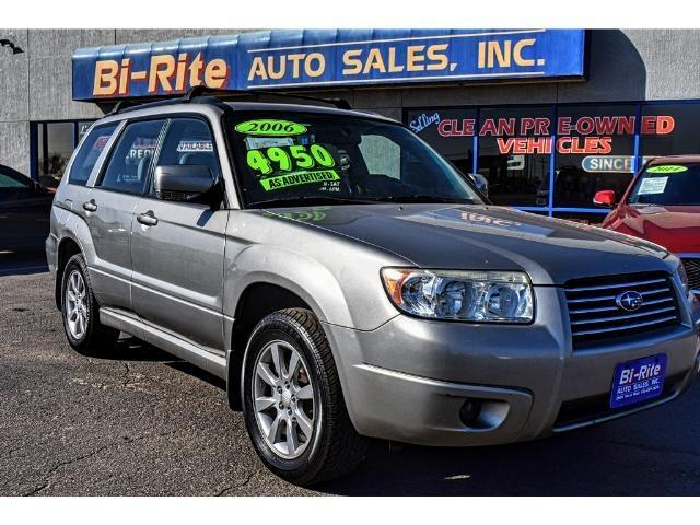 2006 Subaru Forester AWD PREMIUM EDITION GREAT VALUE