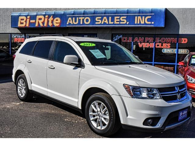 2017 Dodge Journey AWD ONE OWNER FACTORY WARRANTY THIRD ROW SEATING