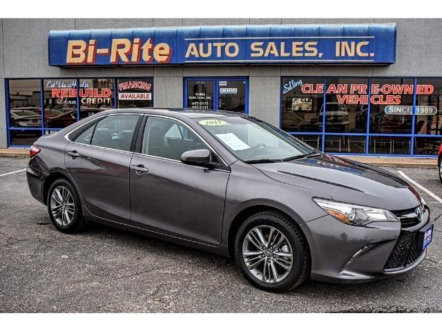 2017 Toyota Camry SE ONE OWNER LIKE NEW