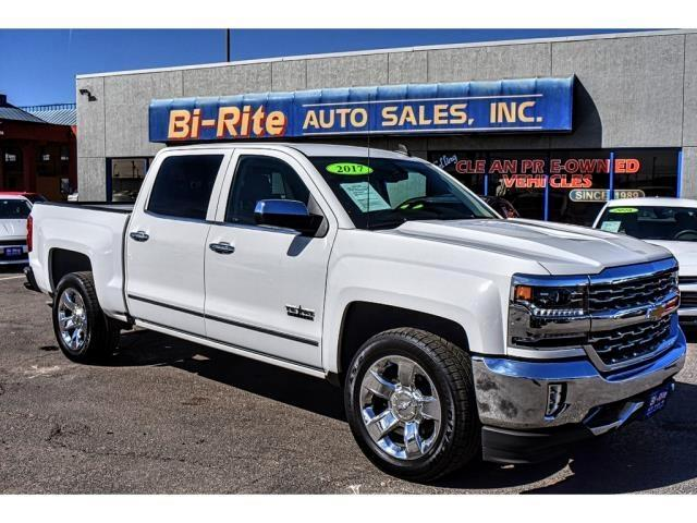 2017 Chevrolet Silverado 1500 LTZ ONE OWNER FACTORY WARRANTY CREW CAB