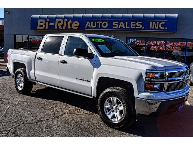 2014 Chevrolet Silverado 1500 4X4 CREW CAB OFF ROAD READY