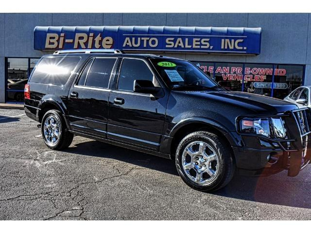 2013 Ford Expedition LIMITED LOADED LEATHER NAV SUNROOF THIRD ROW
