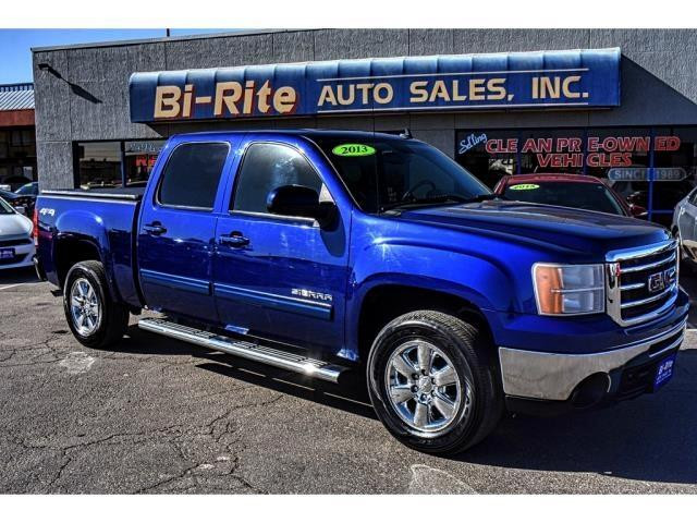 2013 GMC Sierra 1500 4X4 SLT LOADED LEATHER CREW CAB
