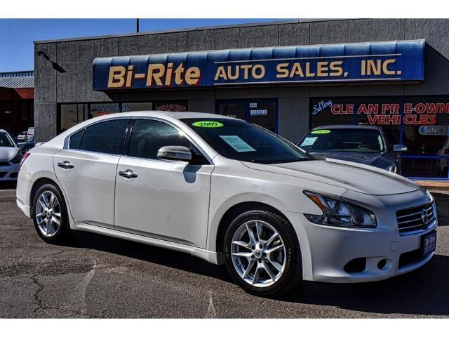 2009 Nissan Maxima SV LOADED SPORTY LEATHER NAV SUNROOF