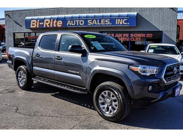 2016 Toyota Tacoma SR5 4X4 DOUBLE CAB ONE OWNER FACTORY WARRANTY