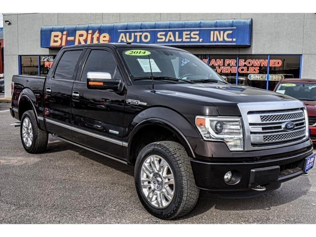 2014 Ford F-150 PLATINUM 4X4 SUPER CREW LOADED ECOBOOST