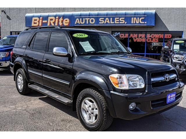 2007 Toyota Sequoia LIMITED LEATHER SUNROOF THIRD ROW