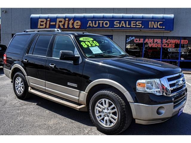 2007 Ford Expedition EDDIE BAUR LEATHER 1 OWNER 3RD ROW GREAT PRICE