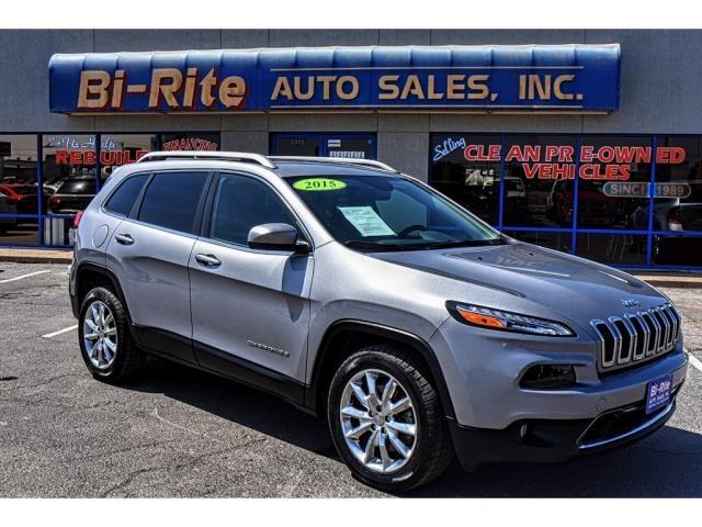 2015 Jeep Cherokee LIMITED WITH LEATHER NAV AND NEW TIRES