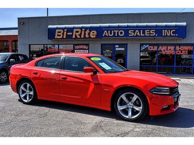 2017 Dodge Charger RED RED RED V8 R/T POLISHED WHEELS