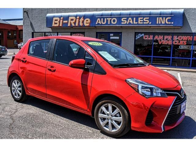 2016 Toyota Yaris RED AUTOMATIC WITH FACTORY WARRANTY  GREAT PRICE