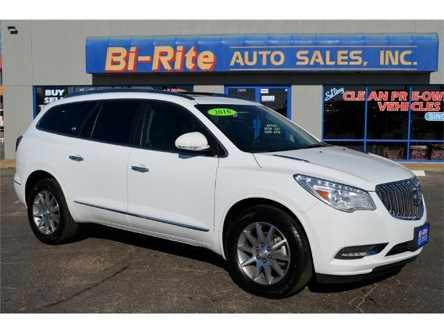 2016 Buick Enclave LOADED LEATHER MOONROOF THIRD ROW FACTORY WARRANTY