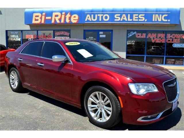 2016 Chrysler 300 ONE OWNER FACTORY WARRANTY LEATHER NAVI SUNROOF