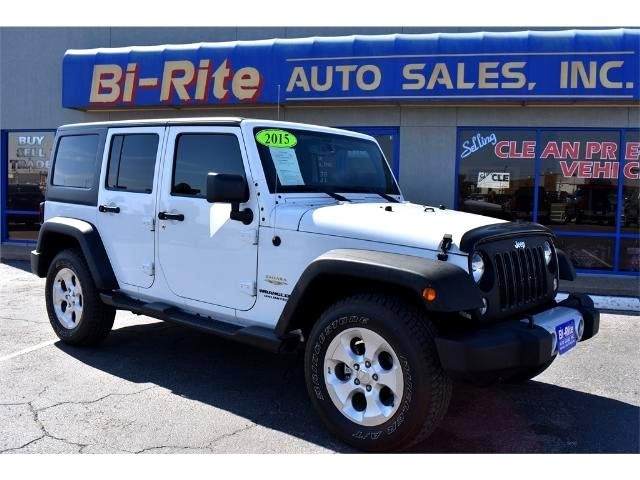 2015 Jeep Wrangler ONE OWNER FACTORY WARRANTY SAHARA OFF ROAD READY