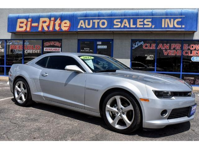 2015 Chevrolet Camaro RS LOADED LEATHER SUNROOF NAVIGATION LOW MILES