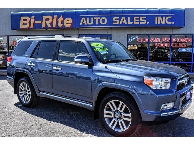 2012 Toyota 4Runner LIMITED LOADED NAV SUNROOF LEATHER SMOOTH RIDE