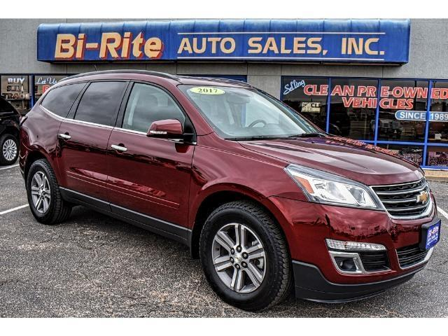2017 Chevrolet Traverse AWD ONE OWNER FACTORY WARRANTY THIRD ROW