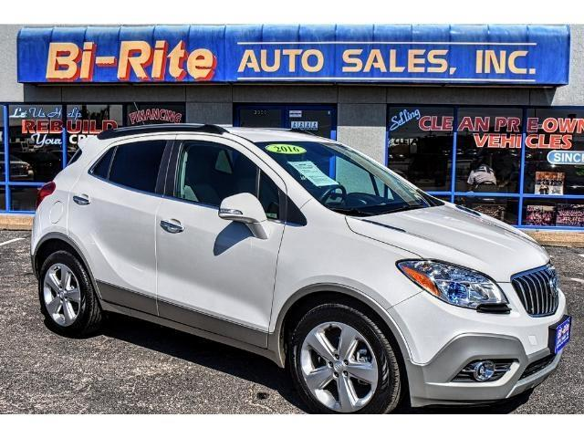 2016 Buick Encore ONE OWNER FACTORY WARRANTY LUXARY W GREAT MPG