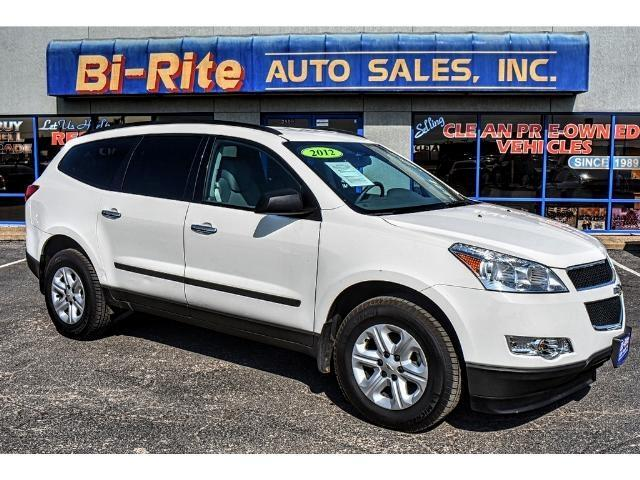 2012 Chevrolet Traverse ONE OWNER THIRD ROW GREAT FOR THE FAMILY