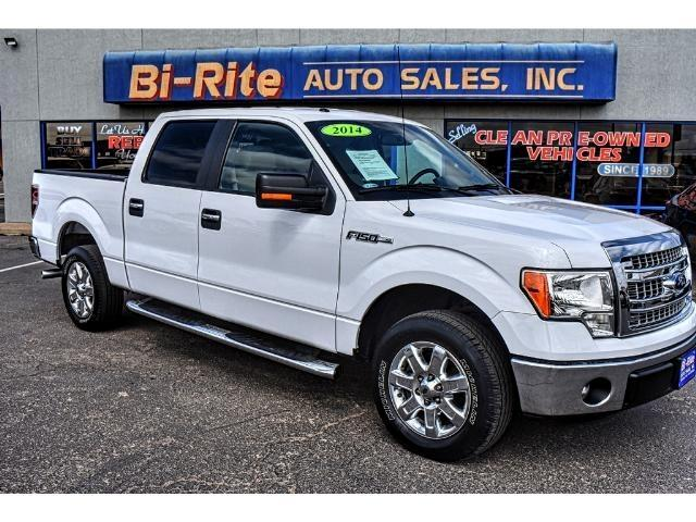 2014 Ford F-150 V-8 ONE OWNER SUPER CREW LOW MILES