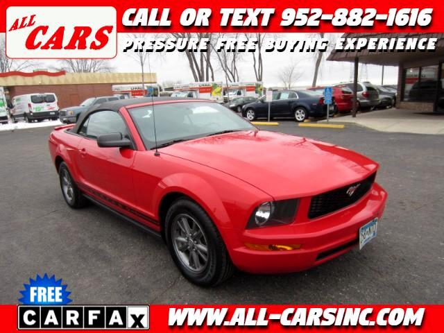 2008 Ford Mustang V6 Deluxe Convertible