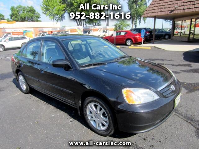 2003 Honda Civic EX Sedan with Front Side Airbags