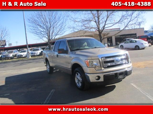 2013 Ford F-150 SUPER CAB XLT