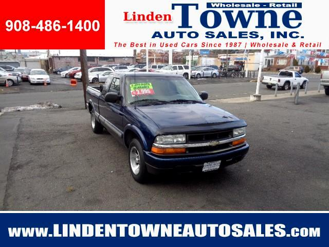 2002 Chevrolet S10 Pickup Ext. Cab