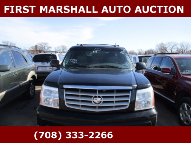 used 2005 cadillac escalade esv for sale in harvey il 60426 first marshall auto auction. Black Bedroom Furniture Sets. Home Design Ideas