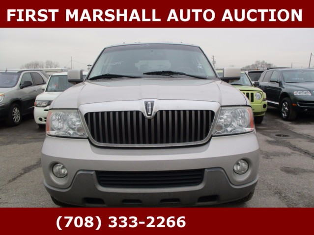 used 2003 lincoln navigator luxury 4wd for sale in harvey il 60426 first marshall auto auction. Black Bedroom Furniture Sets. Home Design Ideas