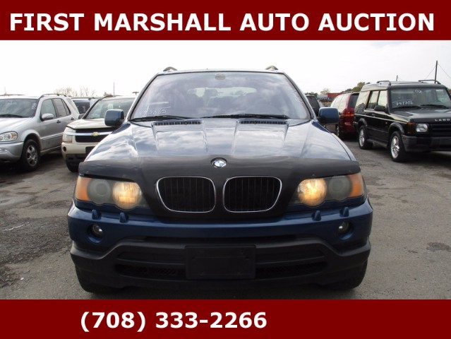 used 2003 bmw x5 for sale in harvey il 60426 first marshall auto auction. Black Bedroom Furniture Sets. Home Design Ideas