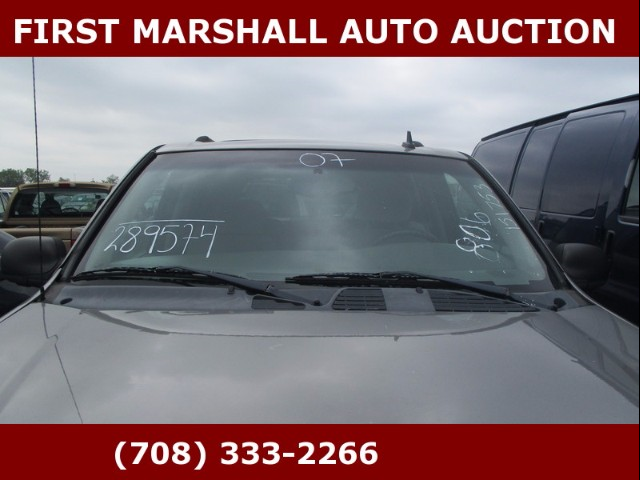 used 2007 chevrolet trailblazer ls1 2wd for sale in harvey il 60426 first marshall auto auction. Black Bedroom Furniture Sets. Home Design Ideas