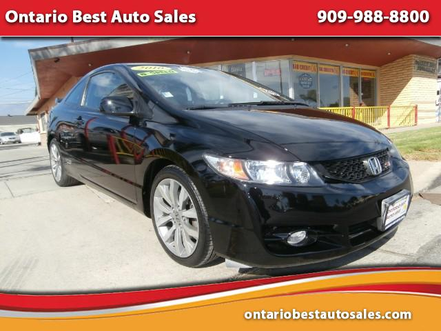 2010 Honda Civic Si Coupe 6-Speed MT
