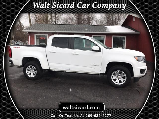 2018 Chevrolet Colorado LT Crew Cab 4WD Long Box