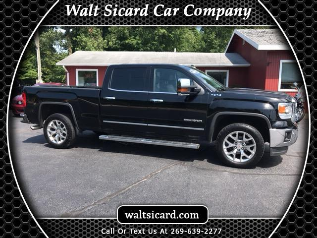 2015 GMC Sierra 1500 SLT Crew Cab Long Box 4WD